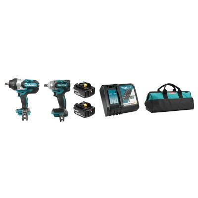 DLX2233TX1 | Ensemble de 2 outils 18V (5,0 Ah) LXT Makita Brushless